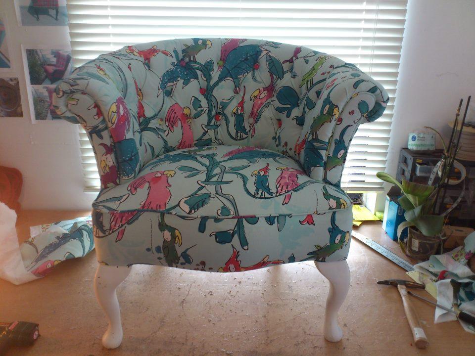 Quentin Blake Cockatoo Chair