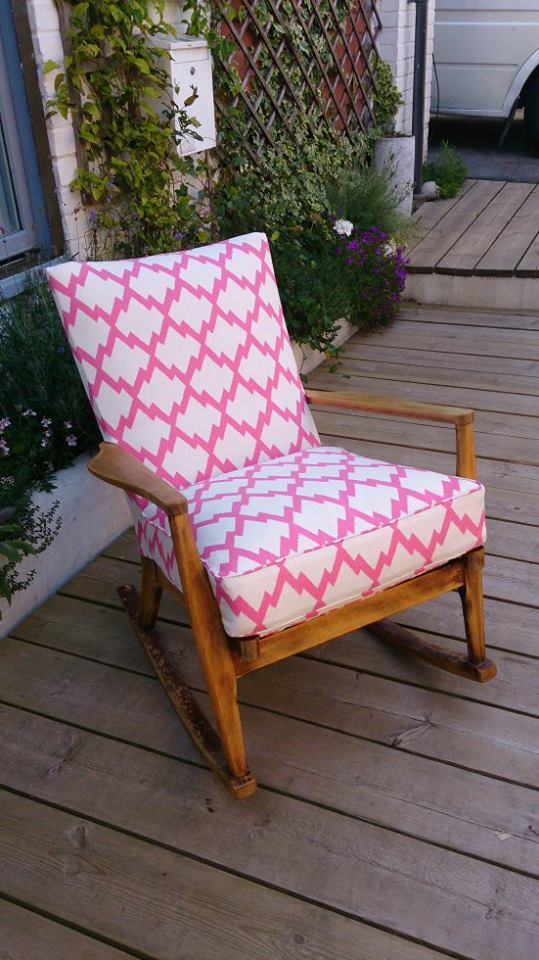 Parker Knoll Rocking Chair Brighton Upholstery