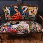needlepoint sofa